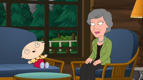 """FAMILY GUY: Stewie and Brian become obsessed with singer Anne Murray (guest-voicing as herself) in the all-new """"Chris Cross"""" episode of FAMILY GUY airing Sunday, Feb. 17 (9:00-9:30 PM ET/PT) on FOX. FAMILY GUY ª and © 2013 TCFFC ALL RIGHTS RESERVED."""
