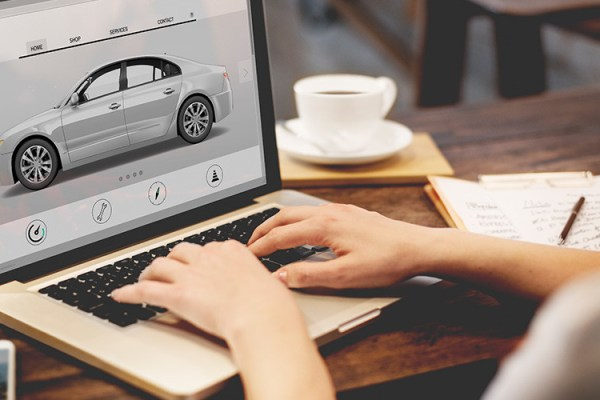 Online Car Buying Process
