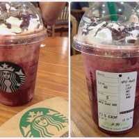 "Starbucks Secret Menu- ""The Devil's Drinks"" in Seoul, Korea"