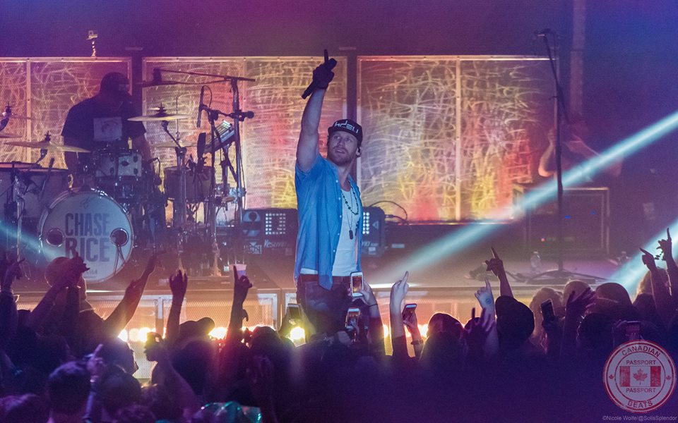 Canadian Beats Passport - Show Review - Chase Rice & Dan Davidson