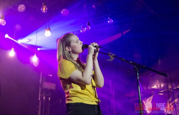 Charlotte Day Wilson performing at the Mod Club