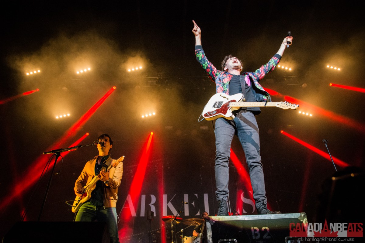 Show Review - Arkells, July Talk, Said The Whale & Mondo Cozmo