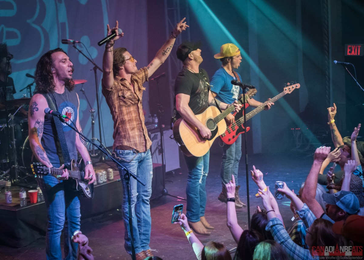 Photo Review - Blackjack Billy, Tim Hicks, Madeline Merlo & Kansas Stone kick it in Barrie!