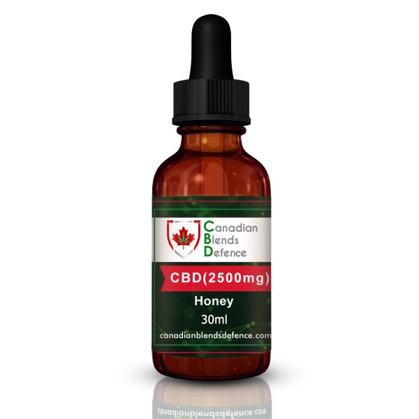 CBD with Honey 30 ml Tincture - Honey CBD Tincture