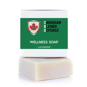 Lavender CBD Wellness Soap