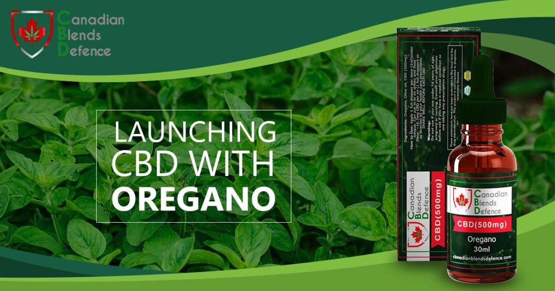 Canadian Blends Defence – CBD with Oregano