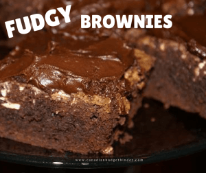 Mr.CBB's Fudgy Brownies $5 a pan