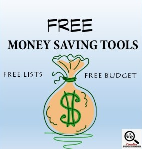 2014 Free Money Saving Tools - money problems