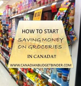 How to Start Saving Money on Groceries in Canada