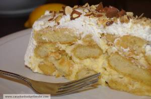 Slice Of Mr.CBB's Mum's Lemon Fridge Cake
