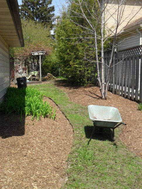 After Landscaping Project- extra money- extra money