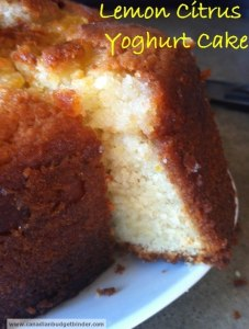 lemon citrus yogurt cake