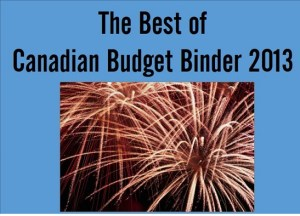 The best of Canadian Budget Binder 2013