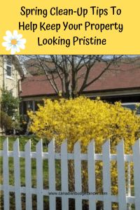 Spring Clean-Up Tip To Help Keep Your Property Looking Pristine
