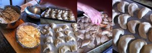 Easy homemade perogies