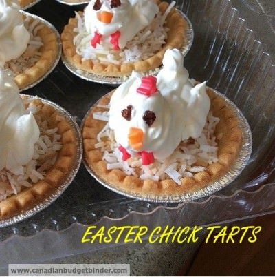 Easter Chick Tarts