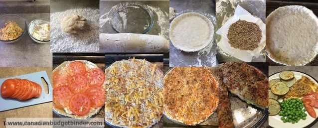 steps to make cheesy tomato pie with potato crust