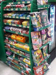Why do snacks tempt our budget while waiting in the grocery line?: The Grocery Game Challenge #4 Sept 22-28, 2014