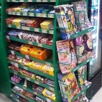 snacks grocery store line
