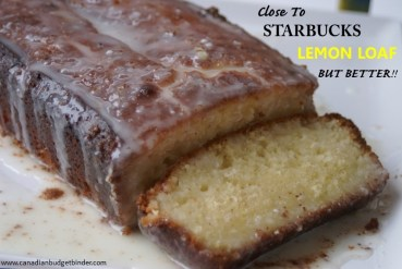 Better than Starbucks Lemon LoafBetter than Starbucks Lemon Loaf