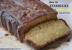 Close To Starbucks Lemon Loaf But Better