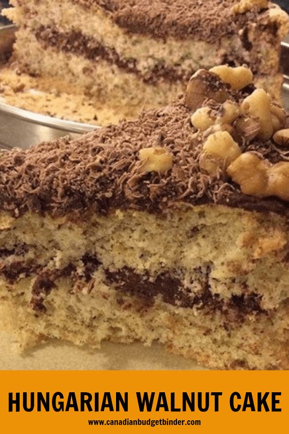 HUNGARIAN WALNUT CAKE-2