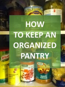 How To Keep An Organized Pantry: The Grocery Game Challenge 2015 #1 Feb 2-8