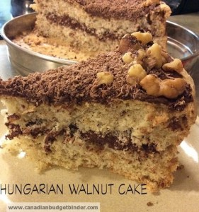 Hungarian Walnut Cake… Moist and Creamy
