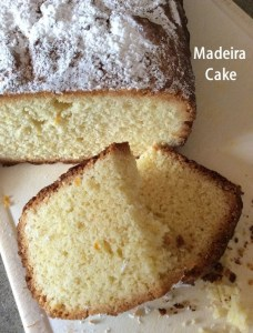 madeira cake cover