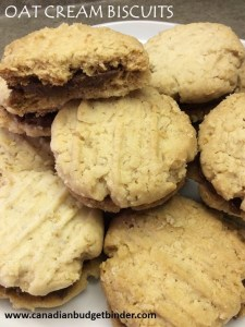 Oat Cream Biscuits Just Like HobNobs