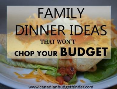 Family Dinner Ideas That Won't Chop Your Budget: The Grocery