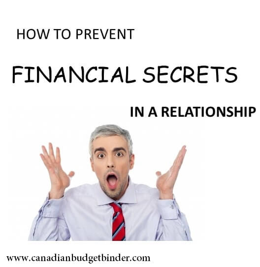 How to prevent financial secrets in a relationship ...