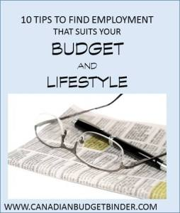 10 tips to find employment to suit your budget and lifestyle(1)