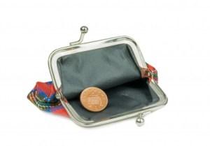 Frugal life empty wallet(1)