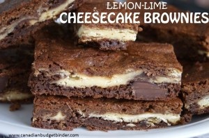 lemon lime cheesecake brownies c