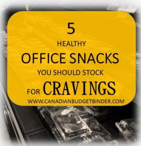 5 HEALTHY OFFICE SNACKS YOU SHOULD STOCK FOR CRAVINGS