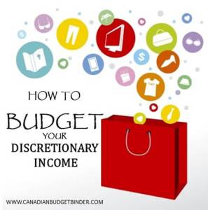 HOW TO BUDGET DISCRETIONARY INCOME
