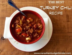 The Best Turkey Chili Recipe