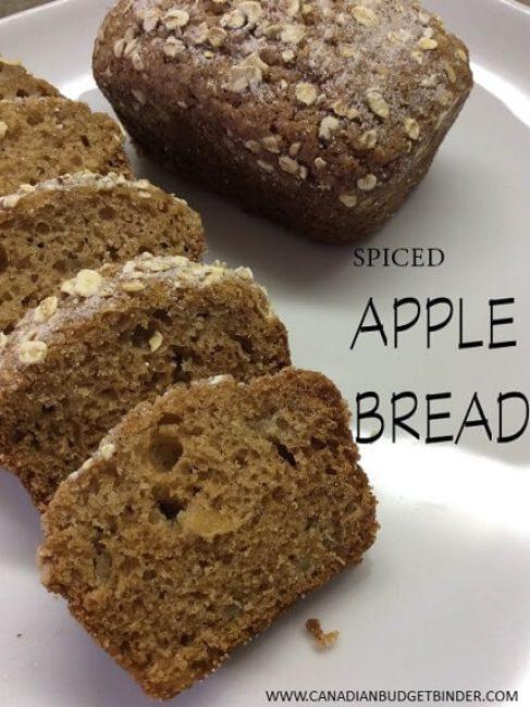 spiced apple bread