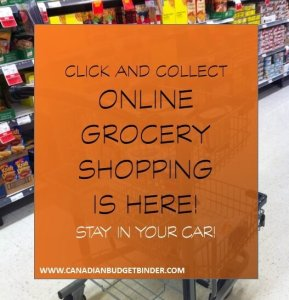 Click and Collect Online Grocery Shopping Is Here : The Grocery Game Challenge #3 Oct 19-25, 2015