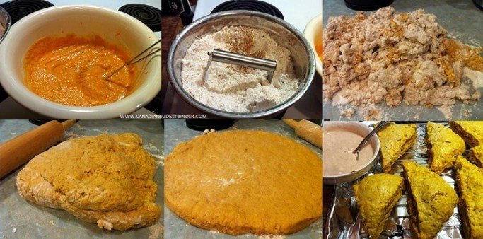 how to make pumpkin scones