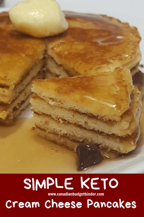Ketogenic pancakes