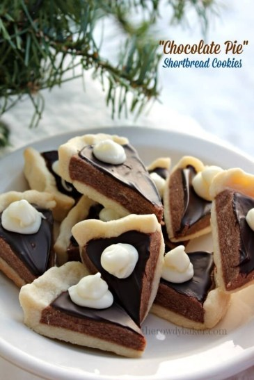 chocolate pie shortbread cookies(1)