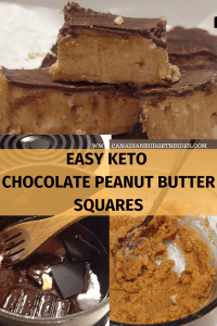 EASY KETO CHOCOLATE PEANUT BUTTER SQUARES