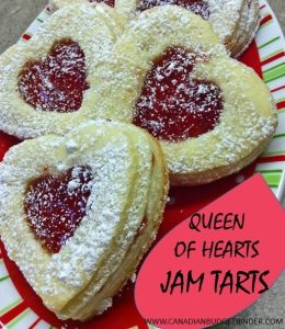 Queen of Hearts Jam Tarts For Valentine's Day