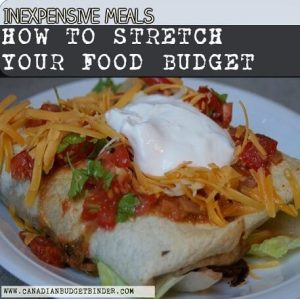 Inexpensive Meals-How To Stretch Your Food Budget : The Grocery Game Challenge 2016 #5 Feb 29-Mar 6