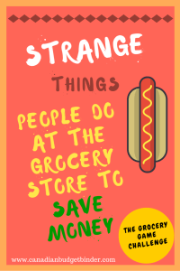 Strange Things People Do At The Grocery Store To Save Money: The Grocery Game Challenge 2016 #3 Apr 17-24