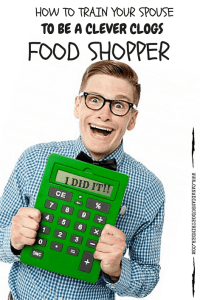 How To Train Your Spouse To Be A Clever Clogs Food Shopper : The Grocery Game Challenge 2016 #4 May 23-29