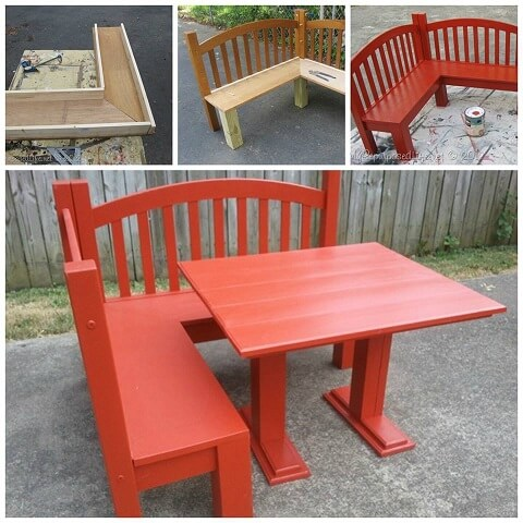 kids corner bench diy