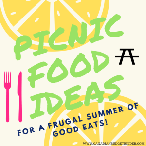 Picnic Food Ideas For A Frugal Summer Of Good Eats : The Grocery Game Challenge 2016 #5 June 27-July 3